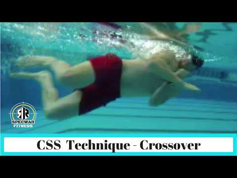 Combat Side Stroke - The Crossover Technique | SEAL Roger Roberts