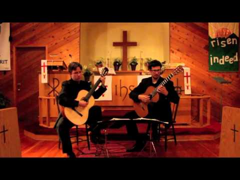 Quelus Guitar Duo Plays Scherzino Mexicano by Ponce