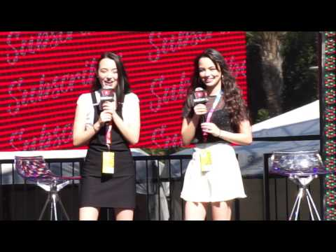 Merrell Twins - VidCon 2017 -  Q&A - Awesomeness Festival Stage
