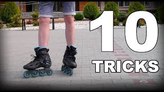10 TRICKS THAT WILL MAKE YOU A BETTER SKATER | How to rollerblade / inline skating tricks screenshot 2