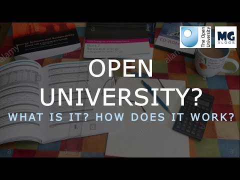 Open University - How does it work?
