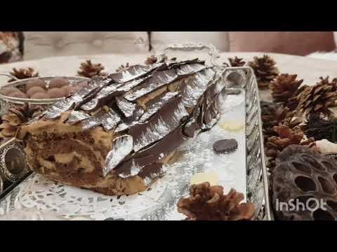 2021-bûche-au-chocolat-et-crème-au-café-2021-,-كيك-رولي-بالشوكولاتة-و-كريمة-القهوة