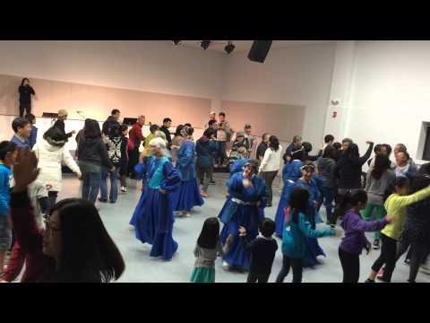 Circle Dance With Worship Dance Team From Beth Israel Messianic Center @ Gospel Fellowship Church