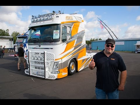 "Volvo Trucks - The Longtrotter, a custom Volvo FH with an XL cab - ""Welcome to my cab - light"""