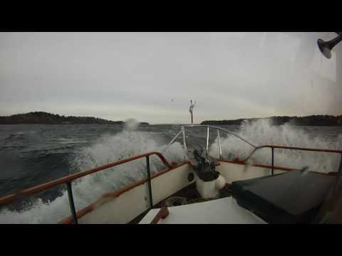 Grand Banks 36 Tranquil...Trip home from Modutec Dec 14 2016