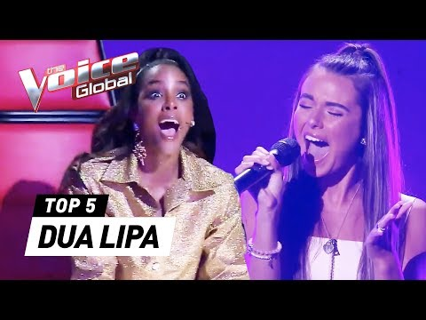 BEST DUA LIPA Covers In The Voice