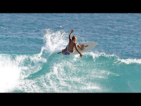 BEST SURF SPOT IN BARBADOS! (BATHSHEBA)
