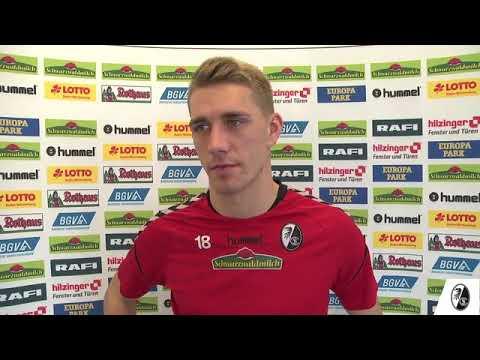 Nils Petersen nach dem Sieg gegen Werder Bremen im Interview