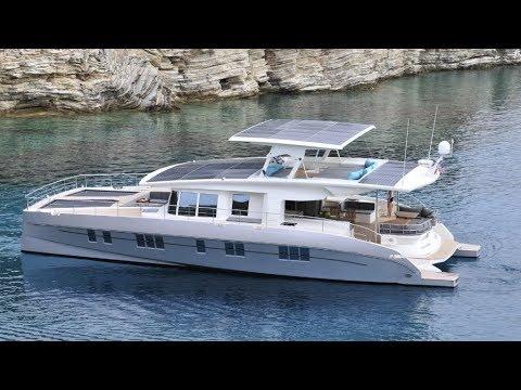 Solarwave 64 Catamaran the luxury solar Powered Yacht