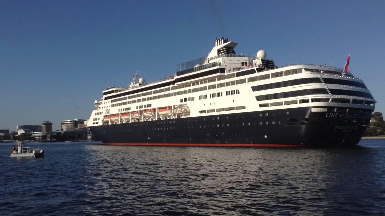 Cruise Ship Pacific Eden Sydney Australia YouTube - Cruise ship pacific