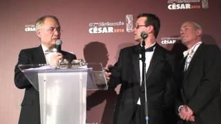 François Musy et Gabriel Hafner César 2016 Meilleur Son, pour Marguerite