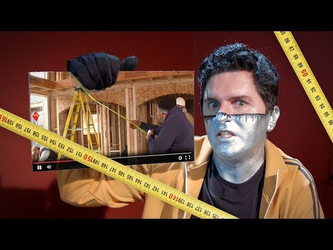 Superhuman Tape Measure Skills DEBUNK