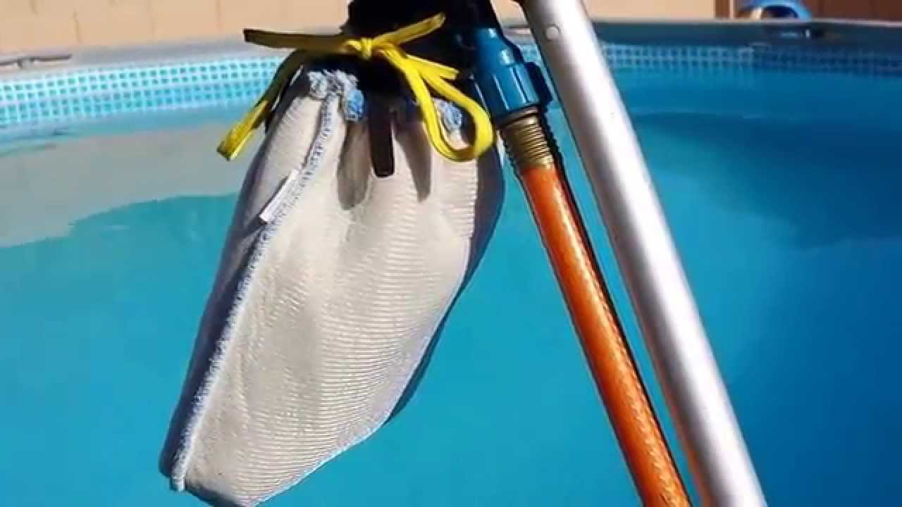 How To Clean The Dirt Off The Bottom Of Intex Pool Youtube