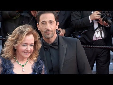 Adrien Brody at the 2018 Cannes Film festival closing ceremony