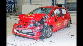 Toyota Yaris - 2017 - Crash test Euro NCAP