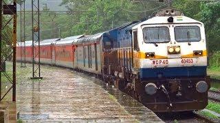 82653 Yesvantpur Jaipur SUVIDHA Express KHANDALA Indian Railways