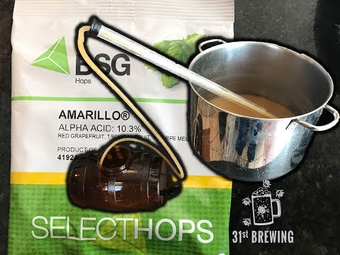 How To Brew Small Batch Beer Amarillo SMASH All Grain BIAB