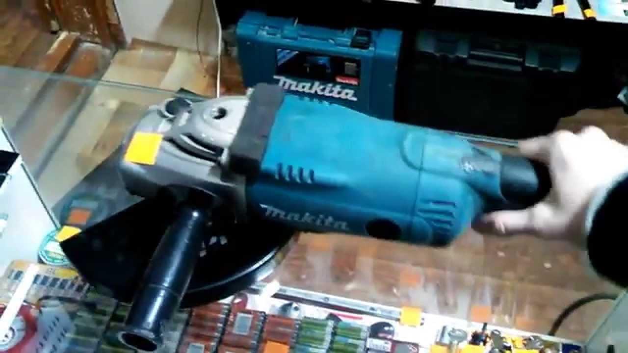 Болгарка Makita (УШМ MAKTEC) MT963. Купить инструмент - YouTube
