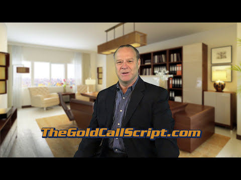 The Gold Call Script Builder Kit - Turn Your Cold Calls Into Gold Calls