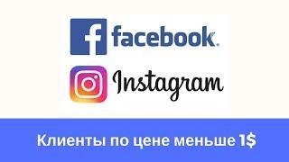 👉 Как получать сотни заказов с facebook и instagram за копейки? 🔥 Реальные примеры.