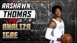 Rashawn Thomas - Analiza igre | KK Partizan 2019/20