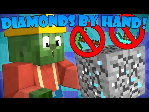 Thumbnail: If You Could Mine Diamonds with Your Hands - Minecraft