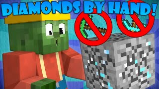 If You Could Mine Diamonds with Your Hands - Minecraft