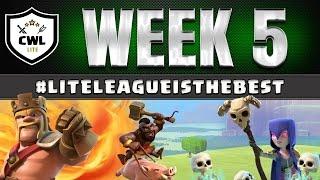 Official CWL L Week 5 Recap Race the Clock | Clash of Clans