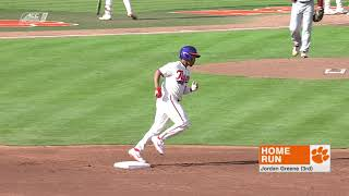 Clemson Baseball    College of Charleston Game Highlights - 3/19/19
