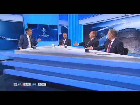 Liverpool 5-2 Roma Post Match Analysis Souness, Lennon, Kerr