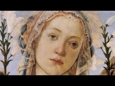 Andrea Bocelli . Ave Maria -  Renaissance paintings of Virgin Mary