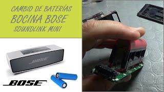 Cambio De Baterías Bocina Bose…