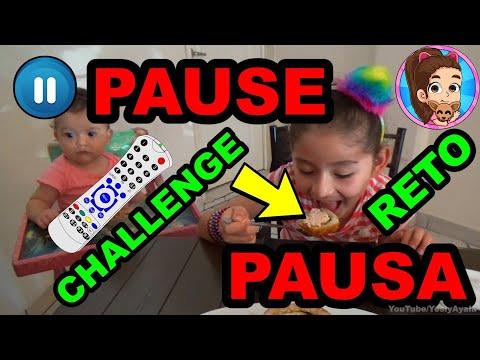 PAUSE CHALLENGE | COMPRANDO JUGUETES | EL RETO DE LA PAUSA // YESLY