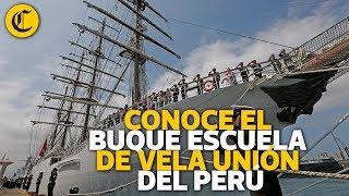 Conoce el Buque Escuela más lujoso del Perú