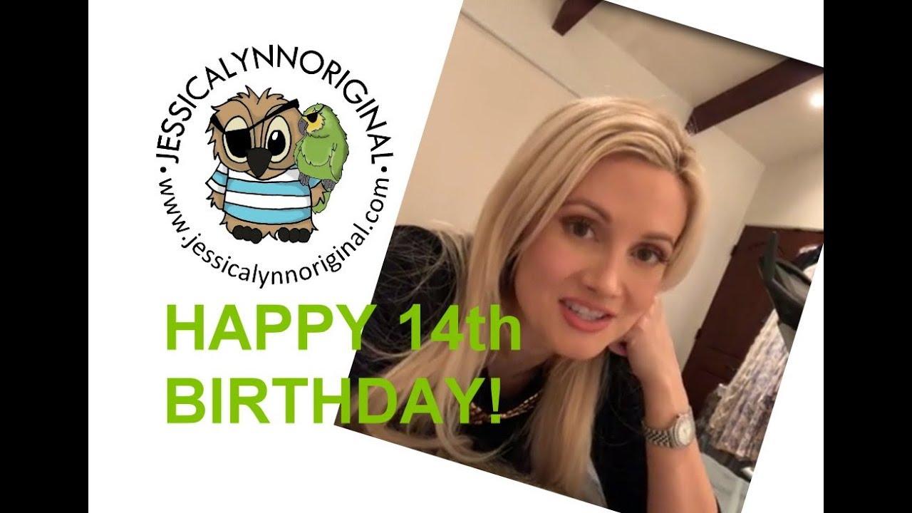 Girls Next Door Happy 14th Birthday Jessicalynnoriginal Shoutout From Holly Madison Youtube