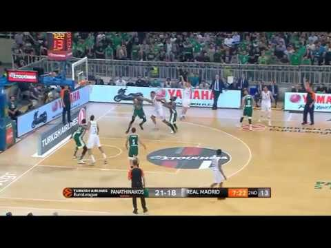 Panathinaikos-Real Madrid (82-89): Jaycee Carroll 17 pts  |