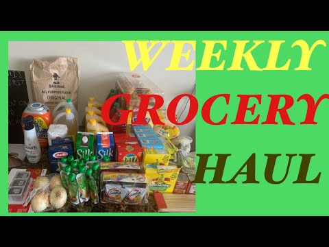 Couponing in Canada:My Small Grocery Haul