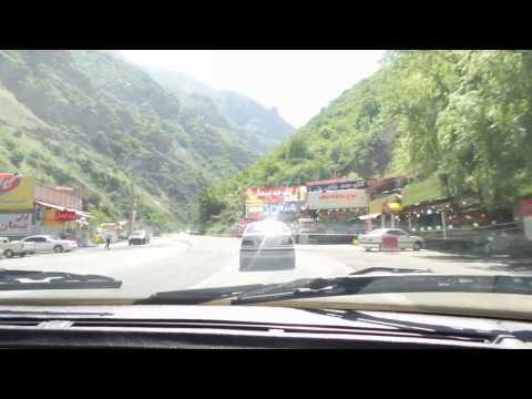 شمال ايران .. طريق طويل ولكن ممتع ..