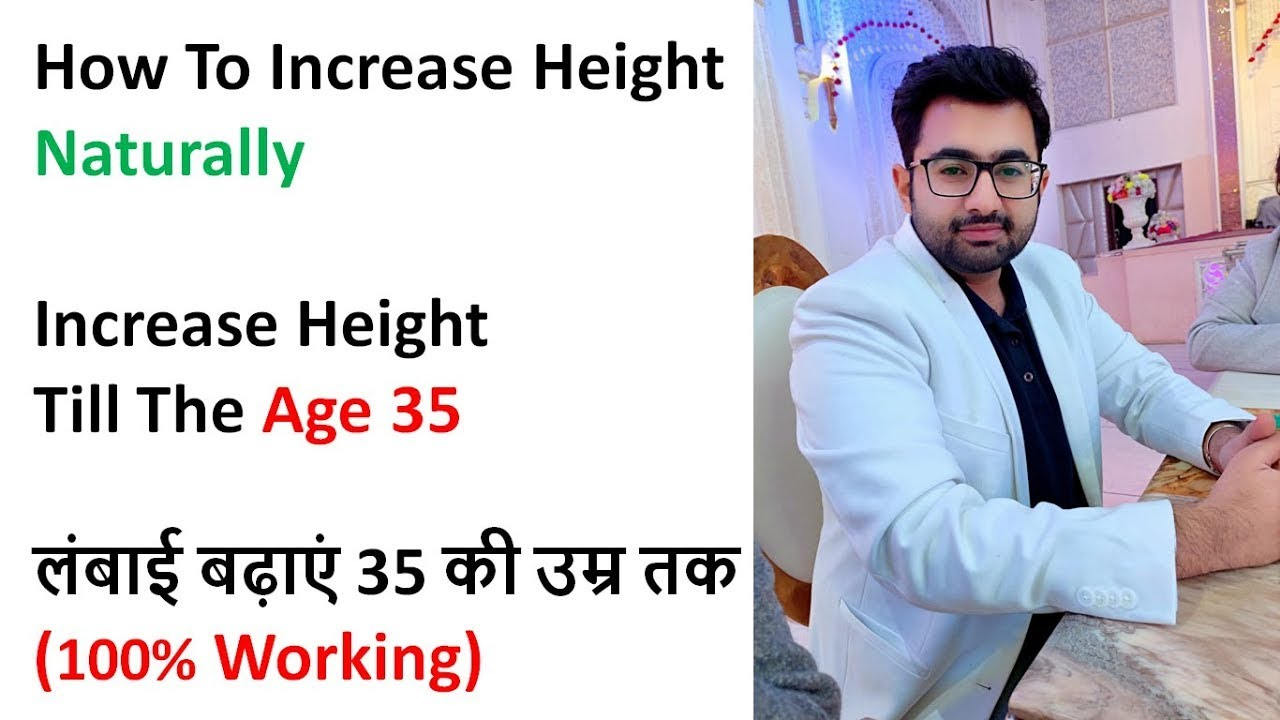 foto How to Increase Height at Any Age in Hindi