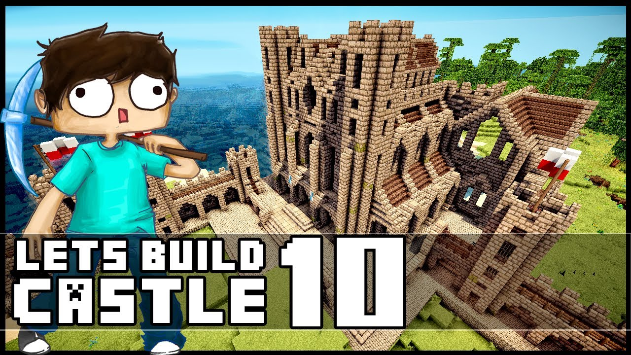 Minecraft lets build castle part 10 the tower of doom for Build a castle house