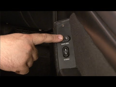 Mustang Power Door Lock Switch And Bezel Quick Fix 1987 1993 Youtube