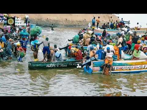 King Jimmy wharf/market Freetown,Sierra Leone