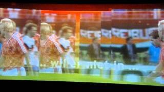 Voetbal Experience EK 1988 Nederland - Duitsland halve finale