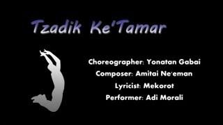 Tzadik Ka'Tamar - IFD Israeli folk dancing for beginners