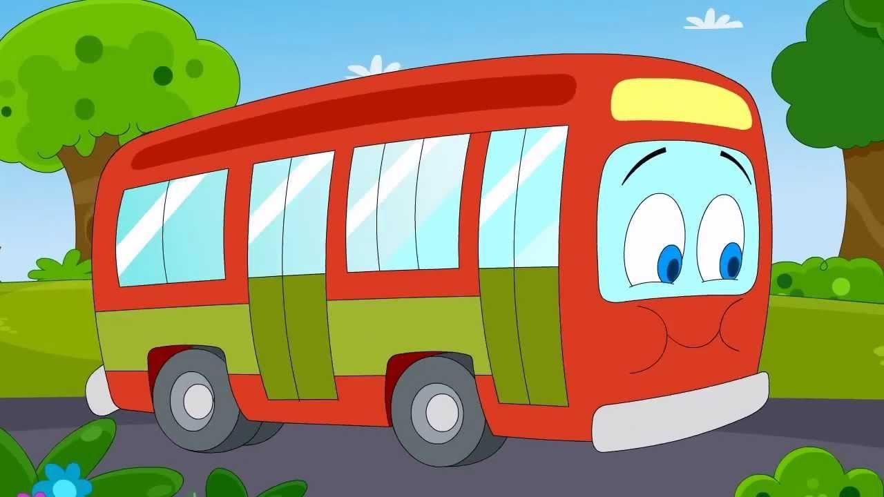 De Wielen Van De Bus Gaan Rond En Rond Hd 2015 Youtube