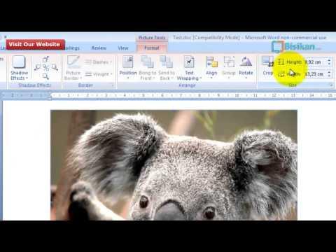 Cara Merubah Ukuran Gambar Pada Microsoft Word