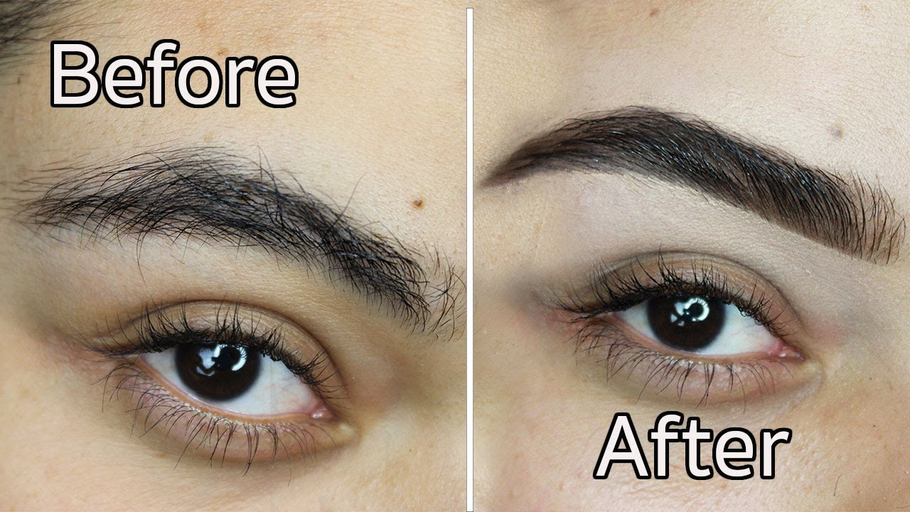 Diy How I Groom And Fill In Thick Eyebrows All Anastasia Products