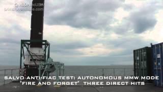 Brimstone Missile Defeats Swarming Boats- Anti FIAC
