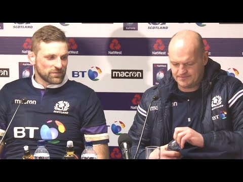 Scotland v England - Gregor Townsend & John Barclay Post Match Press Conference - Six Nations
