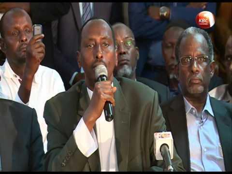 Wajir leaders endorse re-election of President Kenyatta